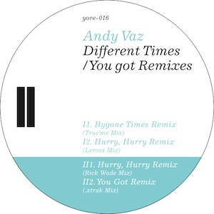 Andy Vaz - Hurry, Hurry Remix -Rick Wade Mix (320 kbp/s MP3)